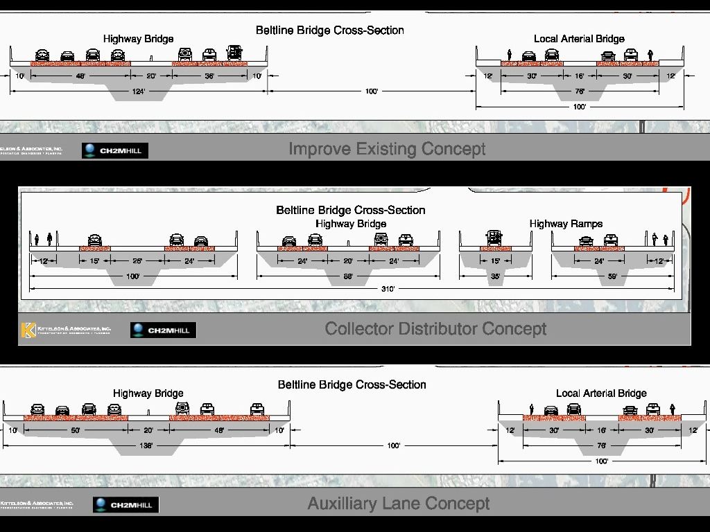 beltline bridge options